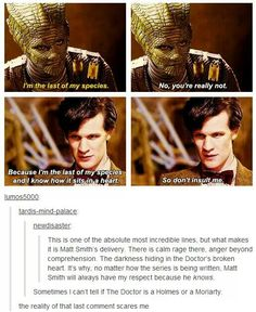 The darkness hiding in The Doctor's broken heart.