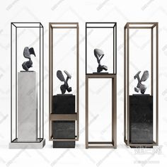 Hang a Shelf Over a Door or Window for Display Items Display Design, Wall Design, Jewelry Store Design, 3d Warehouse, Exhibition Display, Interior Accessories, Retail Design, Interior Inspiration, Sculpture Art