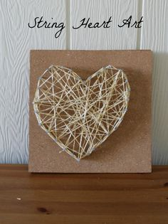String Heart Art
