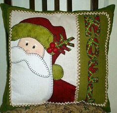 Sewing Crafts For Christmas Quilt Blocks Super Ideas Christmas Cushions, Christmas Pillow, Felt Christmas, Christmas Applique, Christmas Sewing, Christmas Projects, Christmas Crafts, Diy Pillows, Quilt Patterns