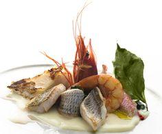 Chef Gennaro Esposito - Pescato di paranza con crema di patate alle foglie di limone e pesto di molliche di pane e prezzemolo