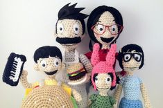 Bob's Burgers in Knit and Crochet! #knit #crochet