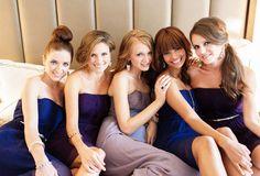 Donna Morgan Bridesmaids #DonnaMorgan #Bridesmaids www.donna-morgan.com