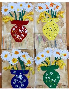 Diy And Crafts, Crafts For Kids, Arts And Crafts, Art Projects, Projects To Try, 3rd Grade Art, 3d Cards, Spring Art, Kids And Parenting