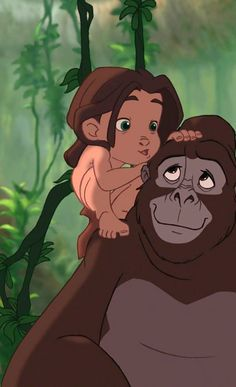 Tarzan and Kala