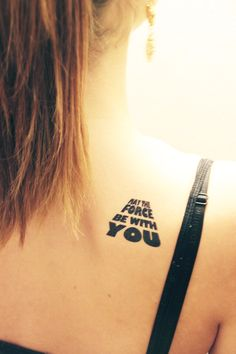 Fake Tattoos - Scandinavian temporary tattoos - May the force be with you Fake Tattoos, Wrist Tattoos, Body Art Tattoos, New Tattoos, Sleeve Tattoos, Tattoos For Guys, Tatoos, War Tattoo, Star Wars Tattoo