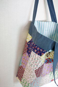 Shopper Tote Bag Tutorial ~