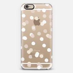 Dots 2 white - Classic Snap Case