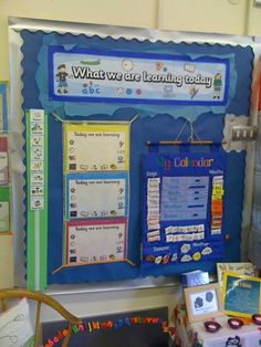 What we are Learning Today Display, classroom display, class display, school… Ks1 Classroom, Primary Classroom, Classroom Activities, Preschool Ideas, Primary School, Classroom Displays Ks1, Year 1 Classroom Layout, Classroom Organisation Primary, Classroom Objectives