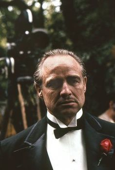 """The Godfather"" Al Pacino, Marlon Brando 1972 Paramount #MarlonBrando"