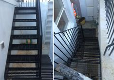 RSG4400 Handrails & Staircase fitted to residential property in Chelsea, London.