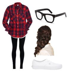 """""""Hunter Rowland's girlfriend/Bestfriend"""" by thalialexy ❤ liked on Polyvore featuring NIKE, Aéropostale, Vans, RetroSuperFuture and Disney"""