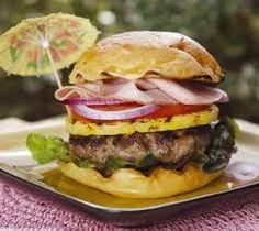 hamburguesa hawaiana - Buscar con Google