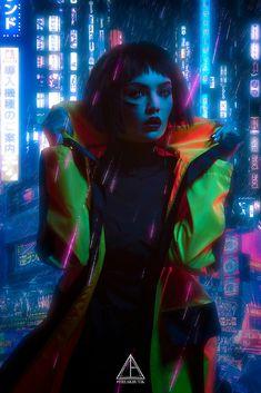 Neon Rain | Artstation