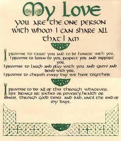 Irish love...