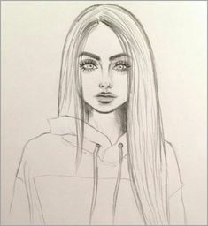 Art & Drawings Drawing, # pencil drawing fixing # pencil drawing photoshop # pencils - Cute Easy Drawings, Cool Art Drawings, Pencil Art Drawings, Girl Pencil Drawing, Girl Drawing Easy, Manga Girl Drawing, Beautiful Girl Drawing, Little Girl Drawing, Anime Character Drawing