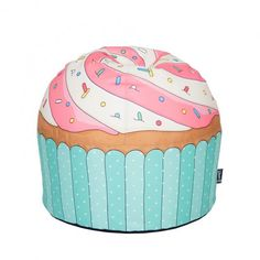 Woouf Bean Bag Cupcake - Blue