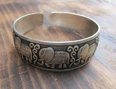 Dharmashop.com - Elephant Cuff So cute!