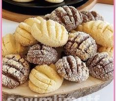 Yummy Food, Tasty, Sweet Cookies, Turkish Recipes, Biscotti, Cookie Recipes, Brunch, Food And Drink, Sweets