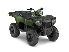 New 2017 Polaris Sportsman 450 H.O. EPS Sage Green ATVs For Sale in North Carolina.