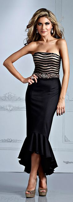 Terani Couture Lovely Dress.  Amazing gown for a big event or to celebrate a birthday in a glamorous way!