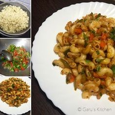 Indian style veg macaroni Pasta recipe with step by step process. This delicious Macaroni recipe is tried and tested. Veg Macaroni Recipe, Indian Macaroni Recipe, Macaroni Pasta, Macaroni Casserole, Pasta Recipe Indian Style, Penne Pasta, Macaroni Cheese, Pasta Noodles, Pasta Salad