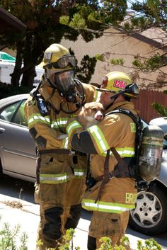 Redlands, CA firefighters extinguish an attic fire and rescued a pet dog from the smoke-filled home.   Shared by LION