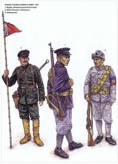Chinese; Chang T'sung-Chang's Army 1927