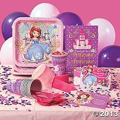 Celebrate her royal day with Sophia the First!