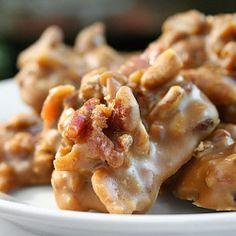 Buttermilk Bacon Pralines - an amazing holiday dessert or homemade gift idea.