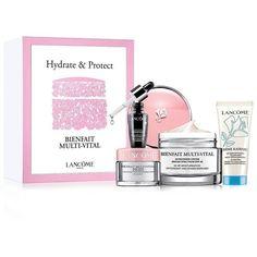 Lancôme Bienfait Multi-Vital Spring Treatment Set (5605 RSD) ❤ liked on Polyvore featuring beauty products, skincare, no color, lancôme, lancome skincare, lancome skin care and lancome beauty products