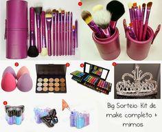 Sthefany De Jorge Make Up: Big Sorteio Coletivo! Kit de Make Completo + Mimos