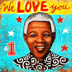A man as great as Nelson Mandela inspires so many of us and all in different ways. Here are some of my favorite Nelson Mandela-inspired art. Nelson Mandela, Arte Popular, Arte Mandela, Pop Art, South African Design, Street Art, Terms Of Endearment, Folk, Out Of Africa