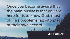 31 of J.I. Packer's Best Quotes | LogosTalk