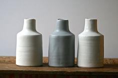 SIMPLE minimal bottle vase ColourBlock series by GolemDesigns
