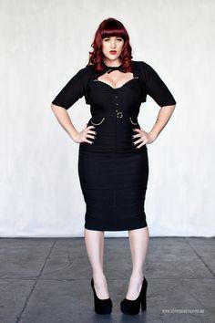 Curves to Kill...  Model - Teer Wayde   Clothing - Stop Starring