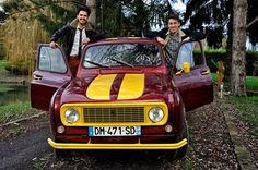 Equipage #4LTrophy donne des ailles 2015 R 6, Fiat 500, Motor, Camper, Classic Cars, Wheels, Vehicles, Vintage, Cars