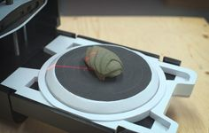 """New $443 3D scanner on sale: """"Looks awesome. Shoots lasers."""" The Photon 3D Scanner, designed in Toronto, exports in STL, OBJ, and PLY formats."""