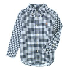 Koselig, klassisk ruteskjorte fra Ralph Lauren til smågutter!