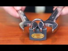 If You Lose The Key Here's How You Can Open A Lock Using Two Wrenches