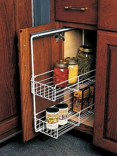 Cabinet Organizers   Vanity And Base Cabinet Pull Out Grooming Organizer    Bottom Mount Design   By Rev A Shelf | KitchenSource.com #kitchensource U2026