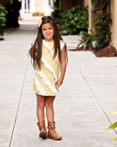 Isabella Dress: PDF Pattern & Tutorial in 11 Sizes. $7.95, via Etsy.
