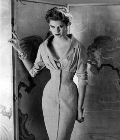 Vintage Dior 1950's  100% Rayon