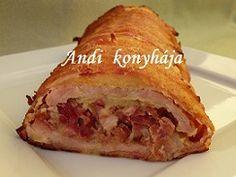 Andi konyhája - Sütemény és ételreceptek képekkel - G-Portál Bacon, Sandwiches, Recipies, Hungary, Foods, Food, Recipes, Food Food, Food Items