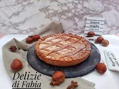 crostata alle castagne e cioccolato bianco Camembert Cheese, Dairy, Pie, Homemade, Desserts, Food, Recipes, Torte, Tailgate Desserts