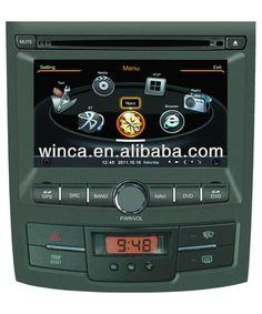 car dvd player for SsangYong Korando