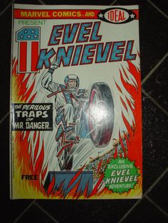 Evil Knievel Promotional Comic Book 1974 Marvel Comics Ideal Toys by LottieDottieVintage, $10.00
