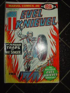 Evil Knievel Promotional Comic Book 1974 Marvel Comics Ideal Toys by LottieDottieVintage
