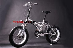 Designer Foldable Fat Tire Electric Bicycle on #deal at #trendyscooter to #buy