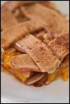 Clean Eating Peach Cobbler Recipe
